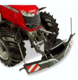 Tractor veiligheidsbumper met frontgewicht in Grijs UH5348