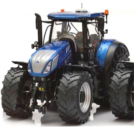 NH.T7.315 Blue Power tractor. Trelleb. MM1605. Scale 1:32
