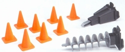Accessories, pawns, auger mini tap. Bruder BRU02408 Scale 1:16