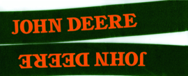 John Deere Bretel oude lettertype .# Old JD.