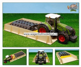 Slot silo 1 compartment - KG610489 - Kids Globe Scale 1:16