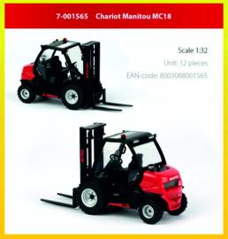 Manitou MC18 vorkheftruck ROS 7-001565 1:32