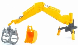 Excavator with grab. Bruder BRU02300 Scale 1:16
