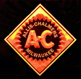 Allis Chalmers LED neon licht sign. LG172