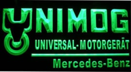 Unimog LED neon light sign. UNIM001