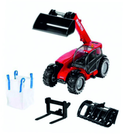 Manitou MLT telescopic loader (telescopic loader) with attachments Si 8613