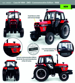 Case IH 1494 2WD Commemorative Edition 1988 UH6261 (1000 pcs.)