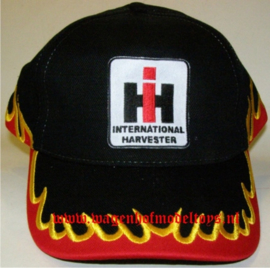 International Harvester Cap with flames B160