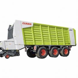 Claas CARGOS 9500 3 axle loader wagon. SI2893. SIKU Scale 1:32