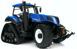 New Holland T8.435 Blue op SmartTrax MM1803 Schaal 1:32