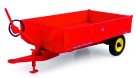 Massey Ferguson 21 3,5 ton kantel trailer met lage schotten UH6241.