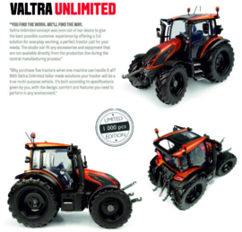 VALTRA G135 in Burnt Orange  1000 stuks UH6292 1:32.
