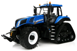 New Holland T8.435 Blue op SmartTrax MM1803 Schaal 1:32