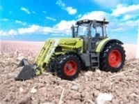 Claas Ares 566RZ with front loader  Universal Hobbies Schaal 1:32