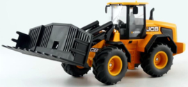 JCB 435S Agri wheel loader with silage fork Siku Si3663 scale 1:32