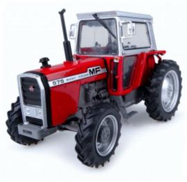 MF 575 tractor met grijze cabine. UH5203 Schaal 1:32