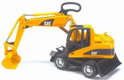 Caterpillar mobile excavator. Bruder BRU02445 Scale 1:16