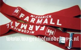 Suspender with McCormick / Farmall imprint Bret IH 48""