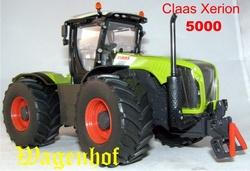 Claas Xerion 5000 tractor  Si3271  Siku Schaal 1:32