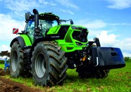 Deutz-Fahr 8280 TTV tractor SC7848 Schuco 1:32.
