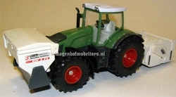Fendt 936 Vario + soil stabilizer and spreader SI3541  Siku Schaal 1:50