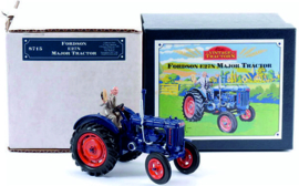 Fordson E 27 N tractor WB8715. From the old box. Scale 1:32
