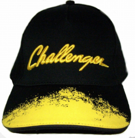 Challenger Cap with embroidered logo.