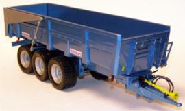 Maupu 23 ton 3 assige kiepwagen  Replicagri Schaal 1:32