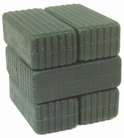 Large square bales (green) Britains Scale 1:32
