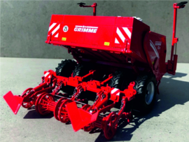 Grimme GL860 4 row potato planter in the hitch ROS601451 1:32.