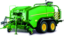 John Deere large baler with wrapper BRU02032 Bruder.