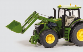 John Deere 7280R + front loader and bucket control Si6777 Scale 1:32