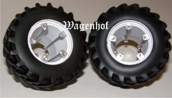 Twin wheels for NH 8560 and NH M160 - REPLICAGR REPD2 Scale 1:32