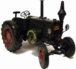 Lanz Bulldog D9506 dark gray SC00131 Scale 1:18