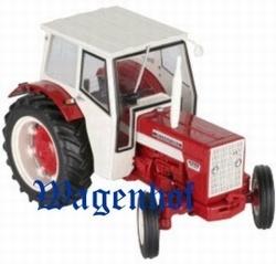 IH624 tractor met cabine  Replicagri Schaal 1:32