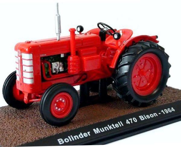 Bolinder Munktell 470 Bison. Atlas - 7517005. Scale 1:32
