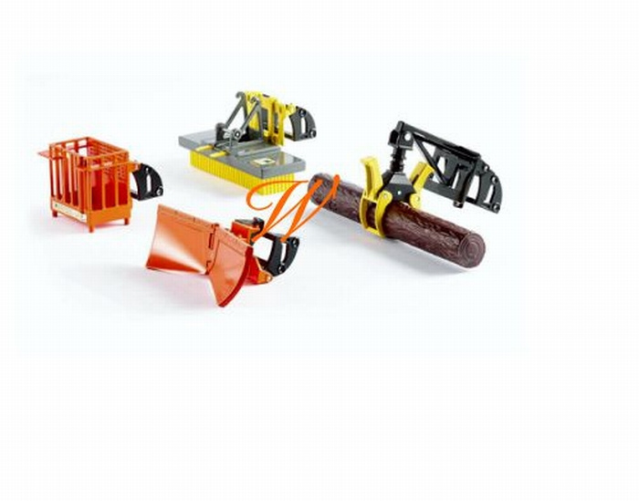 Extension kit for the front loader Siku. Si3661 Scale 1:32