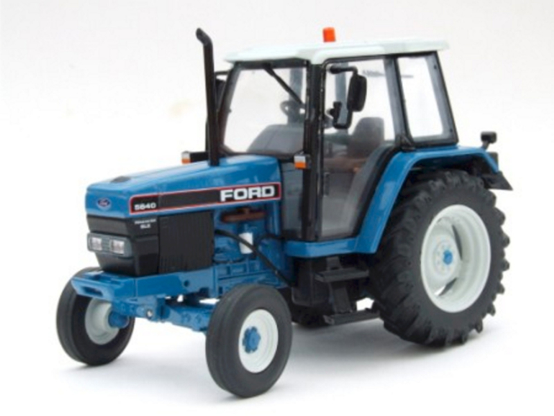 Ford 6640 SLE 2WD (ROS30131 Imber Models scale 1:32