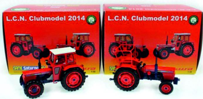 Same Saturno 80 , 2 en 4WD als set L.C.N. Clubmodel 2014 751 stuks
