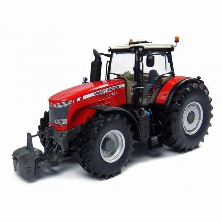 MF8737 tractor op enkellucht UH4231  Schaal 1:32