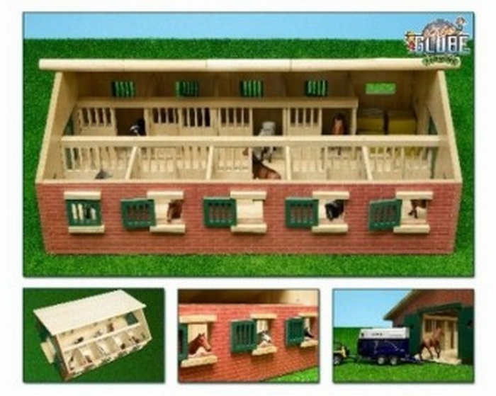 English (United States) Horse stable - Kids Globe KG 610544 Scale 1:32