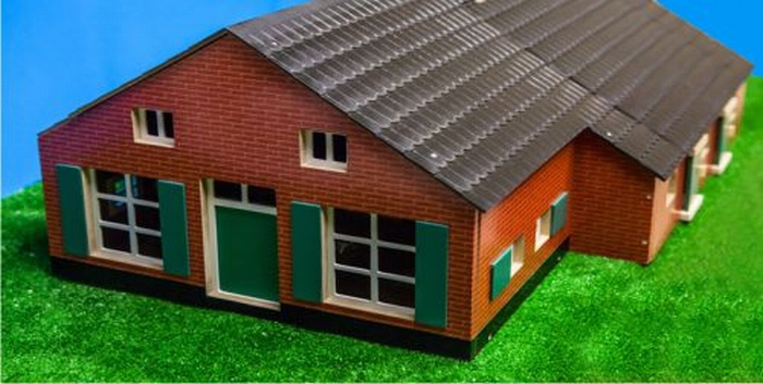 Farmhouse with stable KG 610111. Kids Globe Scale 1:32