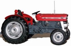 MF 135 tractor zonder cabine UH2785 Schaal 1:32