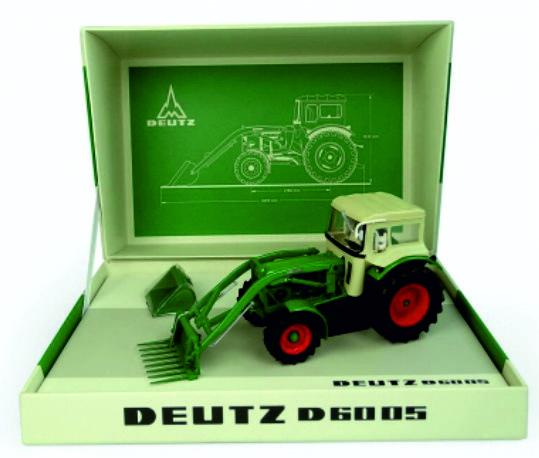 Deutz-Fahr D6005 FWD + cabine en Voorlader UH6200