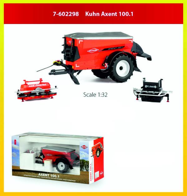 Kuhn Axent 100.1 getrokken strooier ROS 7-602298 1:32