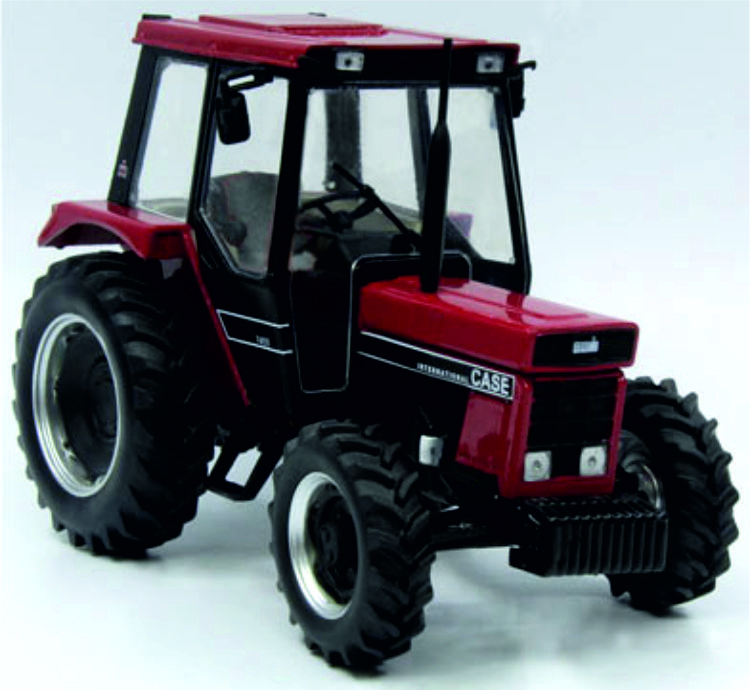 CIH 745S 4X4 in Red / Black. REP212.