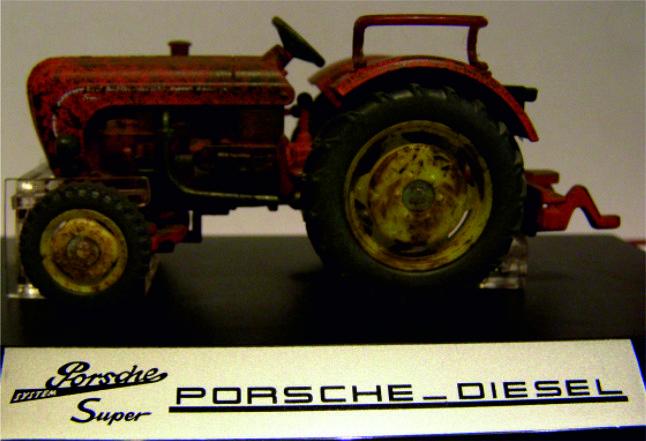 Classic serie Porsche diesel  Super 308 Si4458 1:32