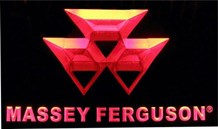 Massey Ferguson LED neon light sign. LG187