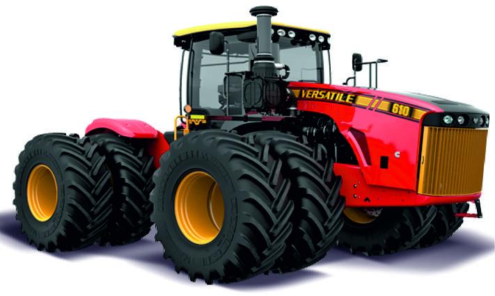 Versatile 610 articulated tractor ERTL 16277 1:32