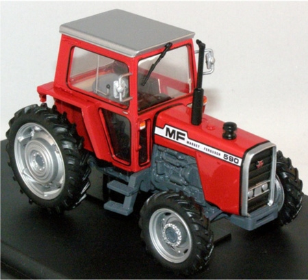 Massey Ferguson 590 with cab Scale 1:43